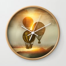 A Trip down the Sunset Wall Clock
