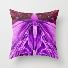 Saturnalian Vortex Throw Pillow