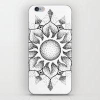 Dotwork Mandala iPhone & iPod Skin