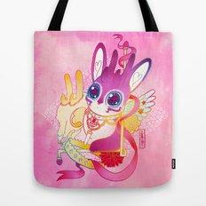Magical Pretty Princess Sugar Ribbon Jackalope-Chan Tote Bag