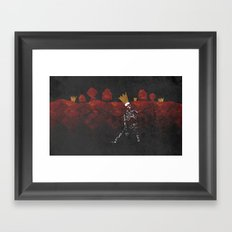 King Nothing Framed Art Print