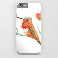 iPhone & iPod Case featuring Rufous Hummingbird by Stephanie Fizer Coleman