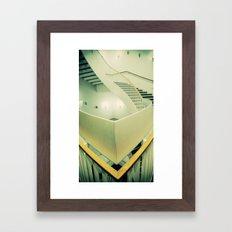 Staircase peak Framed Art Print