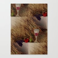 Plaisirs Fruits Canvas Print