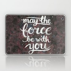 The Force - Red And Blac… Laptop & iPad Skin