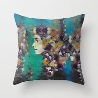 Kelp Queen Throw Pillow