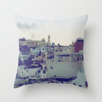 Fira At Dusk V Throw Pillow