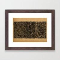- the 2nd secret - Framed Art Print