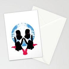Pink Socks Stationery Cards