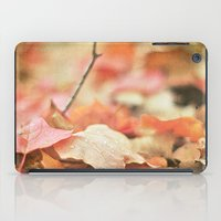 Forest Floor In Autumn iPad Case