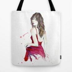 Don't Look Now Tote Bag