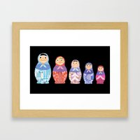 Small, Smaller, Smallest Framed Art Print