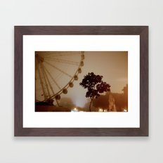 Sea Mist on the Plymouth Eye Framed Art Print