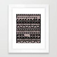 Aztec 4# Framed Art Print