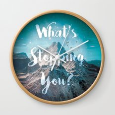 What's Stopping You? Wall Clock