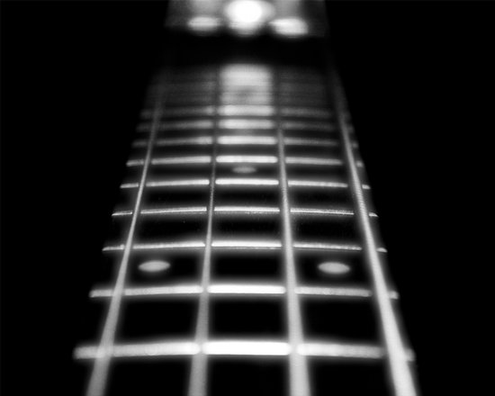 Guitar Fret Art Print