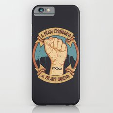 Bioshock a man, a slave iPhone 6 Slim Case