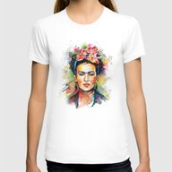 T-shirt featuring Frida Kahlo by Tracie Andrews