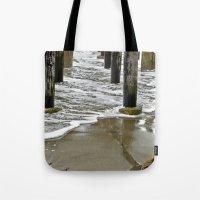 Water Under The Bridge Tote Bag