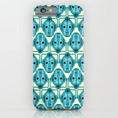 Doctor Who: Cybermen Pattern Slim Case iPhone 6s