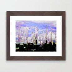 JAZZ FIELD Framed Art Print