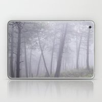 Wander into the foggy forest. Laptop & iPad Skin
