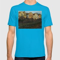 Judith's Walk Mens Fitted Tee Teal SMALL