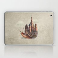 Laptop & iPad Skin featuring The Snail's Daydream by Eric Fan
