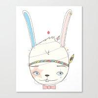 うさぎドロップ [Usagi doroppu] 토끼드롭 Canvas Print