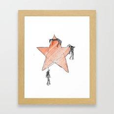 The Communism kills Framed Art Print