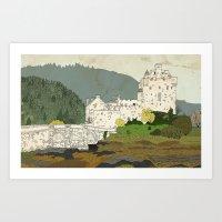 Eilean Donan Castle, Scotland Art Print