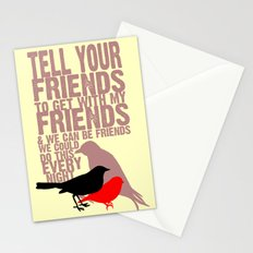 Tell Yo' Friends Stationery Cards