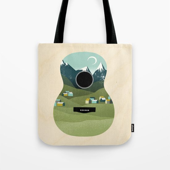 Rocky Mountain High - Guitar Tote Bag