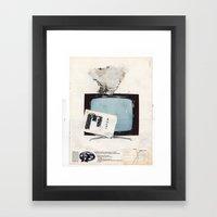 Commande Framed Art Print