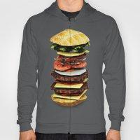 Graphic Burger Hoody