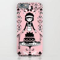 iPhone & iPod Case featuring Lady Cake by LadyTiz