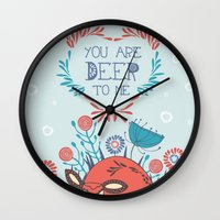 You Are Deer To Me Wall Clock