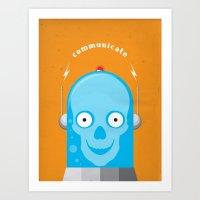 Communicate Art Print