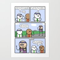 Antics #363 - One Of Us Art Print
