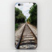 Down The Track (2) iPhone & iPod Skin