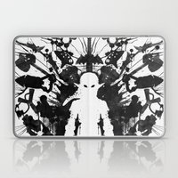 Ink Blot Link Kleptomani… Laptop & iPad Skin
