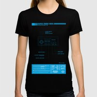 Diagame : Super Mario Bros. '85 Womens Fitted Tee Black SMALL
