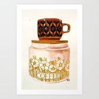 Hornsea stack Art Print