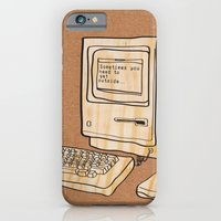 iPhone & iPod Case featuring Sometimes you need to get outside by Tristan Tait
