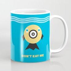Don't Eat Me Vegan Fishie Art Mug