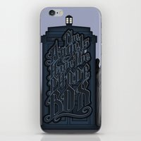 The Angels have the Phone Box iPhone & iPod Skin