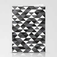 Triangle Pattern #4 Stationery Cards