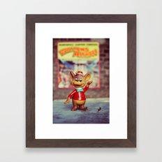 Bongo Framed Art Print