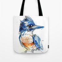 Belted and Brazen Tote Bag