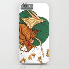 Girl and fish Slim Case iPhone 6s